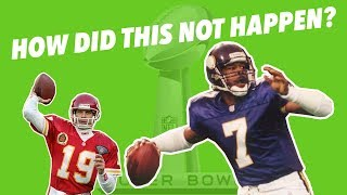 What are the BEST SUPERBOWL Matchups that DIDN