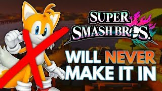 5 Characters That Will NEVER Be in Super Smash Bros. for Switch!