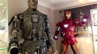 LIFE SIZE TERMINATOR SALVATION T-600