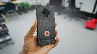 RED Hydrogen One Unboxing! (Houdini Edition)