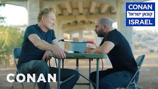"Conan Interrogates The Star Of ""Fauda""  - CONAN on TBS"