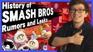 History of Smash Bros. Rumors and Leaks - Scott The Woz