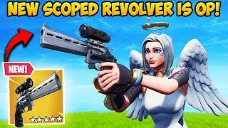 *NEW* SCOPED REVOLVER IS OP! - Fortnite Funny Fails and WTF Moments! #442