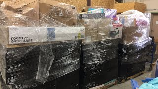 I bought 6 TGT pallets of overstock: unboxing part 1