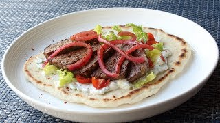 "American Gyros - How to Make a Gyros Sandwich - Lamb & Beef ""Mystery Meat"" Demystified"