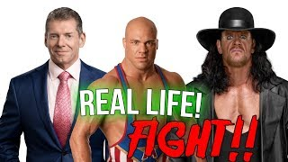 10 Infamous WWE Backstage Real Wrestling Fights