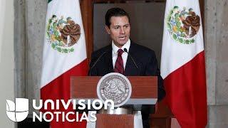 Ante advertencia de Trump, Peña Nieto reitera que México no pagará un muro fronterizo