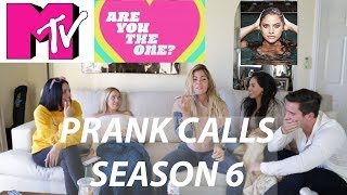 ARE YOU THE ONE? SEASON 6 - MTV PRANK CALLS (Pt 4) || Zak Longo, Tori Deal, Hannah Rathbun