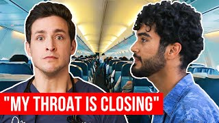 Airplane Medical Emergency | WE COULDN'T LAND! | Wednesday Checkup