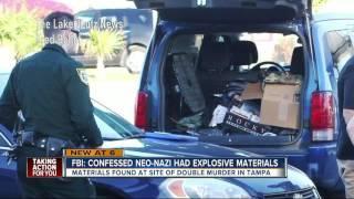 FBI: Confessed Neo-Nazi had explosive materials