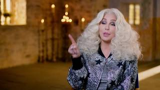 """MAMMA MIA! 2 Here We Go Again """"Ruby"""" Cher On Set Interview"""
