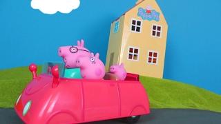Peppa Pig Wutz deutsch: Neue Spielzeugautos für Peppa Spielspaß | Neue Peppa Pig Unboxing Episoden