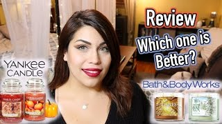 Yankee Candle vs. Bath & Body Works | Which is better?