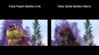Super Smash Bros. Brawl - All Alternate Cutscenes (Comparison)