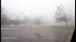 INSIDE THE EYE WALL! Hurricane Michael / Panama City, FL