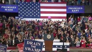 President Trump rally in Louisville, Kentucky. Mar. 20. 2017.  Trump rally in Kentucky today