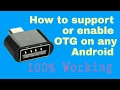 How to support otg or enable otg on any ...mp3