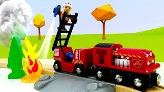 Wir packen Spielzeug aus - Die neue Feuerwache - Brio Toys - Tolle Züge