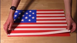 History of the U.S. Flag, in Paper