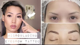 "MY ""NATURAL"" EYEBROW TATTOO EXPERIENCE 