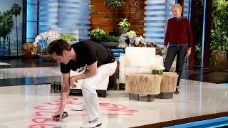 Jim Carrey Paints a Picture for Ellen