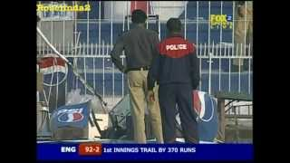 Terrorist attack at cricket match in Pakistan