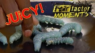Fear Factor Moments - Tomato Horn Worms