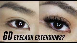 3D, 4D, 5D, 6D Eyelash Extensions- What are they? | TINA TRIES IT
