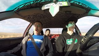 700HP TURBO CIVIC REACTIONS!