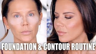 FULL FOUNDATION & CONTOUR ROUTINE
