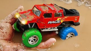 Fine Toys Construction Vehicles Looking for underground car   Toys for kids