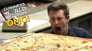 Worlds LARGEST pizza - Furious Pete and Food for Louis // On The Road (Ep16)