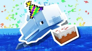 Minecraft Dolphin helps me celebrate 6 years of YouTube!!