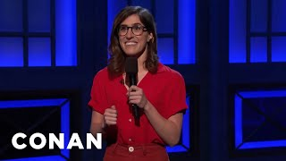 Emmy Blotnick Is Done With Comic Book Movies  - CONAN on TBS