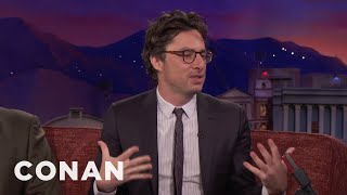 "Why Zach Braff Wears Nipple Pasties On ""Alex Inc""  - CONAN on TBS"