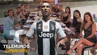 Cristiano Ronaldo deja exuberante propina en hote   Deporte Rosa   Telemundo Deportes
