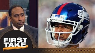 Stephen A. Smith likes Eli Manning to Denver Broncos | First Take | ESPN