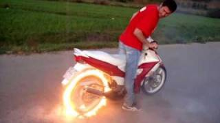 The Best Burnout EVER - Ghost Rider By Valentino Zorbaj