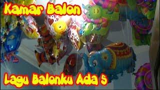 Balonku Ada Lima - Mainan Anak-anak Balon Karakter Gajah, Spongebob, Love, Nemo, Spiderman, Snail