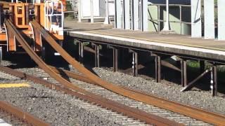 Train laying new tracks