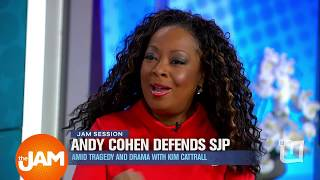 """Star Jones Discusses Andy Cohen, SJP and """"Mean Girl"""" Environment on SATC with Kim Cattrall"""