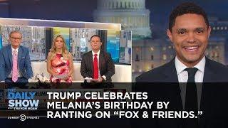 Trump Celebrates Melania