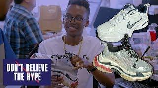 Nike Air Monarch vs Balenciaga Triple S in the Dad Shoe Face-Off: Don