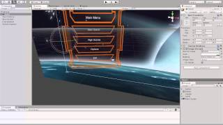 "Unity3D Tutorials 4.6 UI :- create a simple ""Main menu"" - CoolPlay Videos Portal"