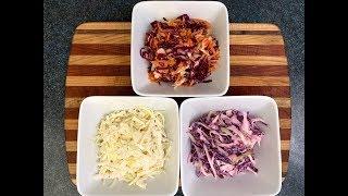 3 Bangin' Coleslaws - You Suck at Cooking (episode 84)