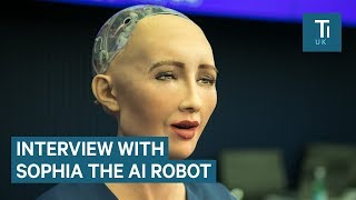 We interviewed the AI robot that