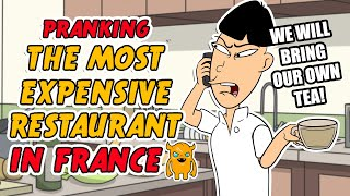 The Most EXPENSIVE Restaurant in France (crazy)
