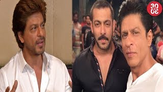 Shahrukh On Media Attention Around His Kids | Salman-SRK Miss Each Other At The Eid Bash