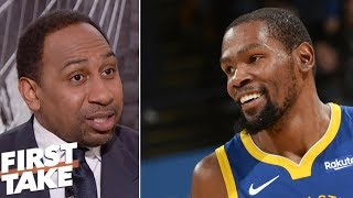 Stephen A: Kevin Durant's performance against Rockets was