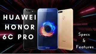 Huawei Honor 6C Pro - Specs, Features & Reviews